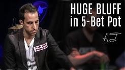Alec Torelli Fires Epic RIVER BLUFF in 5-Bet Pot - Poker Night in America!