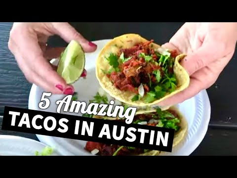 5 Best Taco Spots In Austin, Texas | Lesser Known Tacos In Austin 🌮