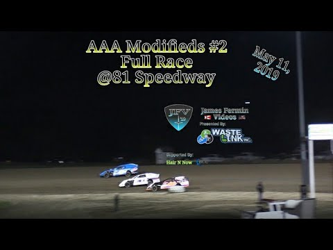 (AAA) Modifieds #27, Full Race, 81 Speedway, 05/11/19