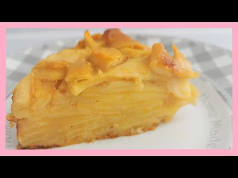 ///😜-gâteau-invisible-aux-pommes-///-facile-et-rapide-😋😋