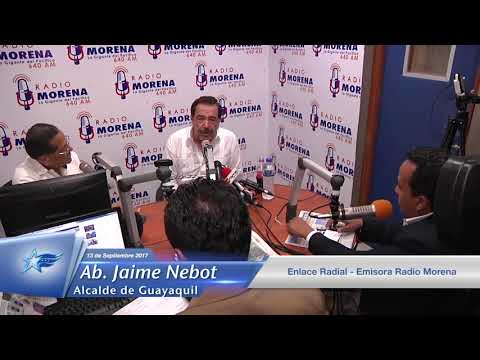 13 Septiembre 2017 - Ab  Jaime Nebot - Enlace Radial - Radio