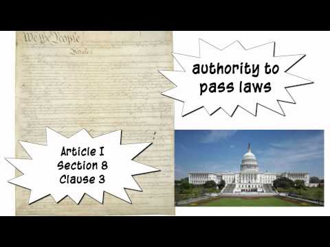 stretching the commerce clause essay