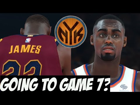 NBA 2K18 Knicks MyGM Y2   Are We Going To A Game 7?   Lebron is Scary