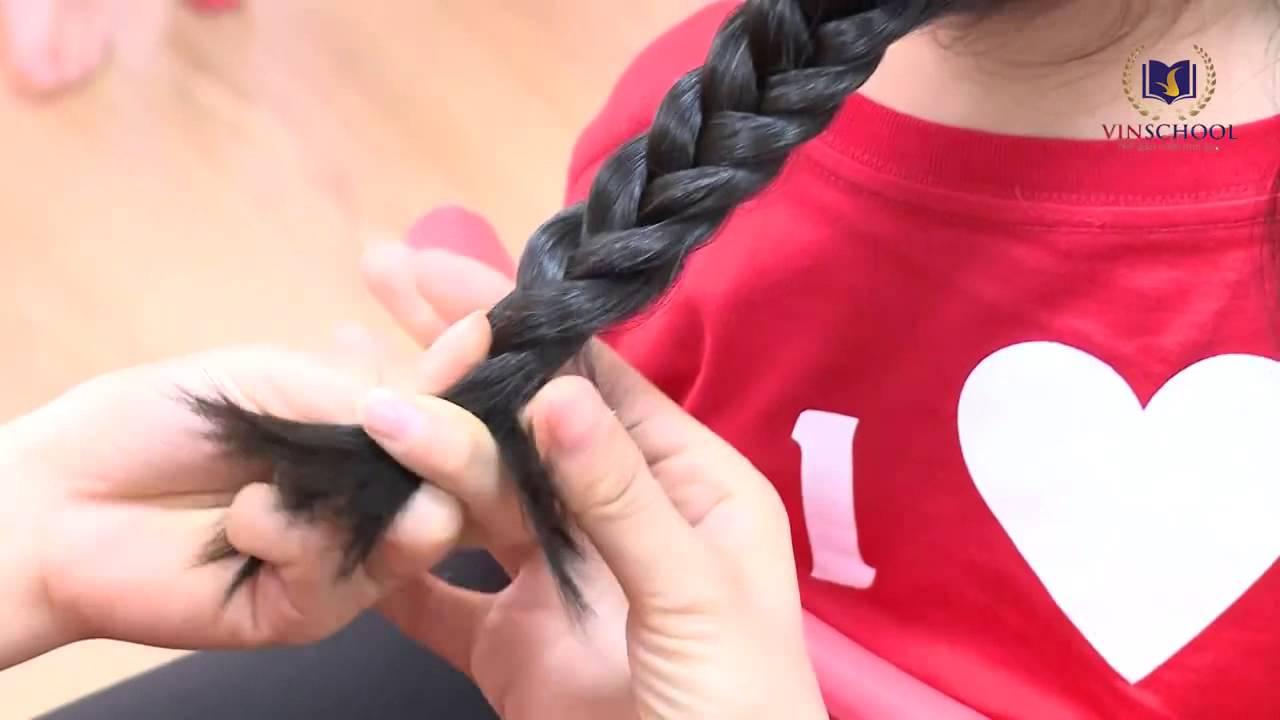 CÔ GIÁO HƯỚNG DẪN CÁCH TẾT TÓC CHO BÉ (SỐ 1) | Tổng hợp kiến thức về tóc đẹp mới nhất