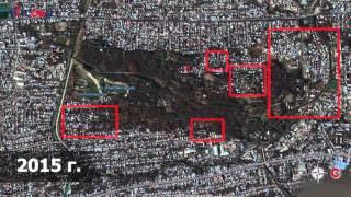 Видео: Как застраивалась Карагачевая роща за последние 10 лет