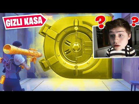*GİZLİ KASA * Dan Çıkan Eşyalarla Win Alma Challenge !! (Türkçe Fortnite)