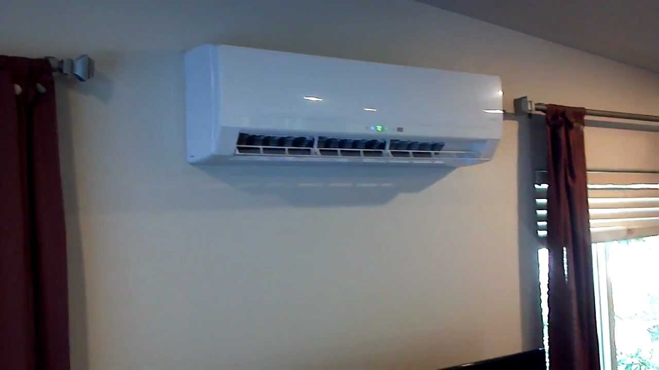 Lennox Ductless Heat Pump Walkthru - YouTube