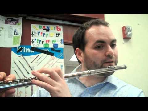 Hot Cross Buns for Flute