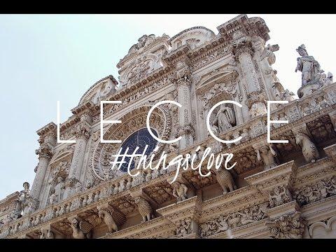 LECCE | #thingsilove