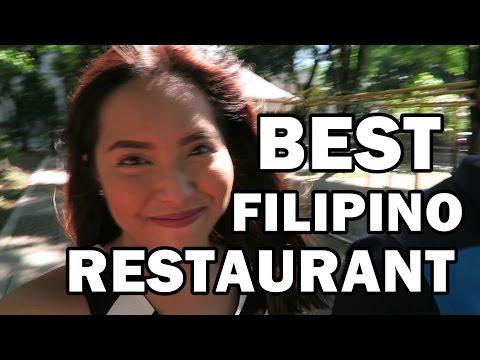 BEST FILIPINO RESTAURANT! (Singing Cooks and Waiters) June 2, 2016- saytioco