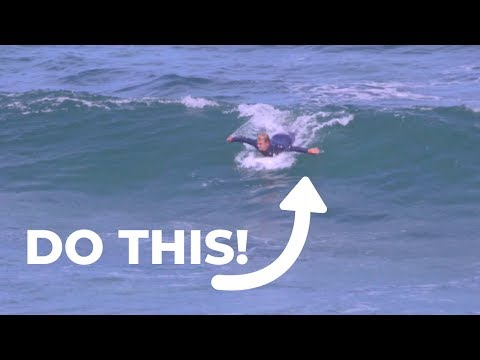 How To Paddle Into Waves Like A Pro | Learn To Surf