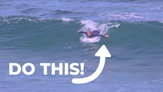 How To Paddle Into Waves Like A Pro   Learn To Surf