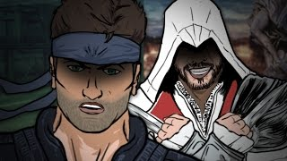 Ezio Auditore VS Solid Snake - Epic Rap Battle