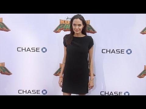 "Angelina Jolie ""Kung Fu Panda 3"" World Premiere Red Carpet"