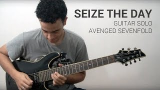 avenged sevenfold seize the day solo cover with tabs