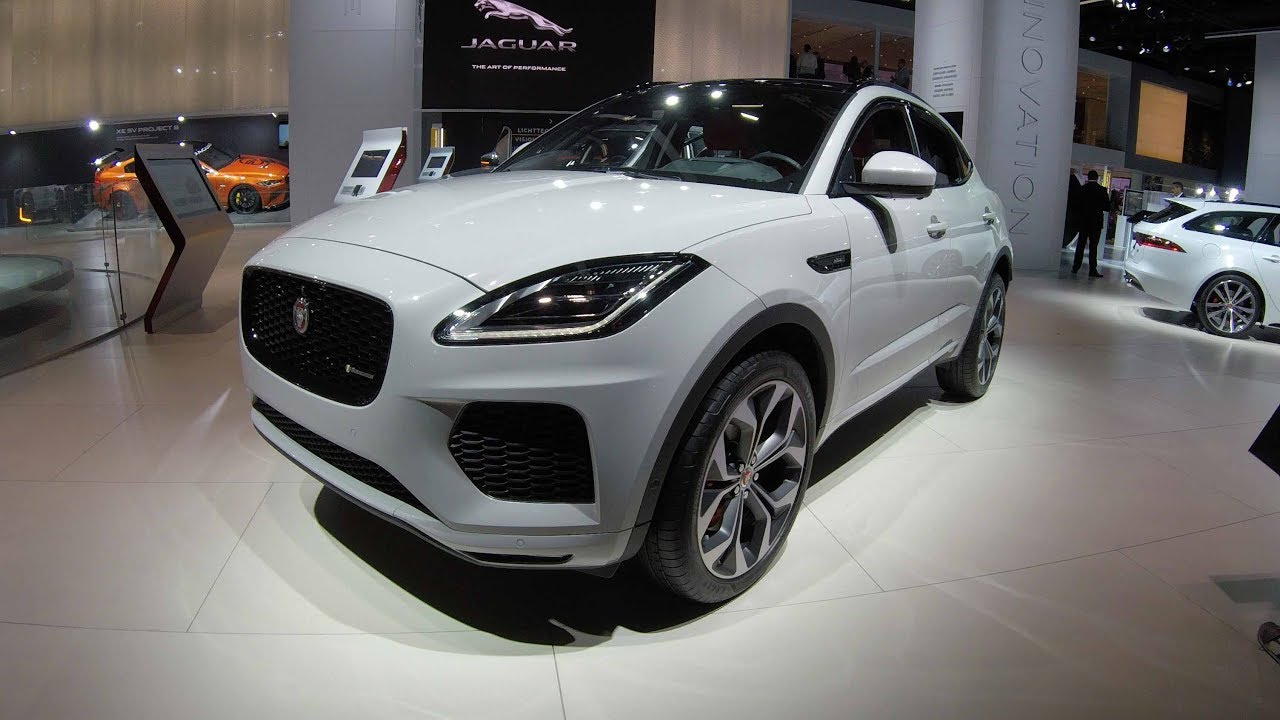 Jaguar E Pace Hse R Dynamic Suv New Model 2017 Walkaround And Interior White Red Colour