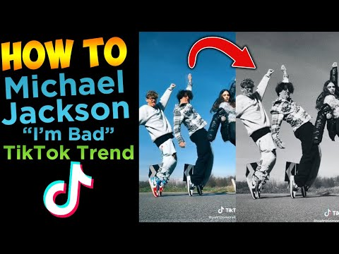 How To Make Michael Jackson - I'm Bad TikTok Tutorial