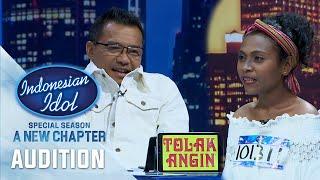 Gokil ! Anang Terkesima Dengan Suara Elfrida Maure - Audition 2 - Indonesian Idol 2021