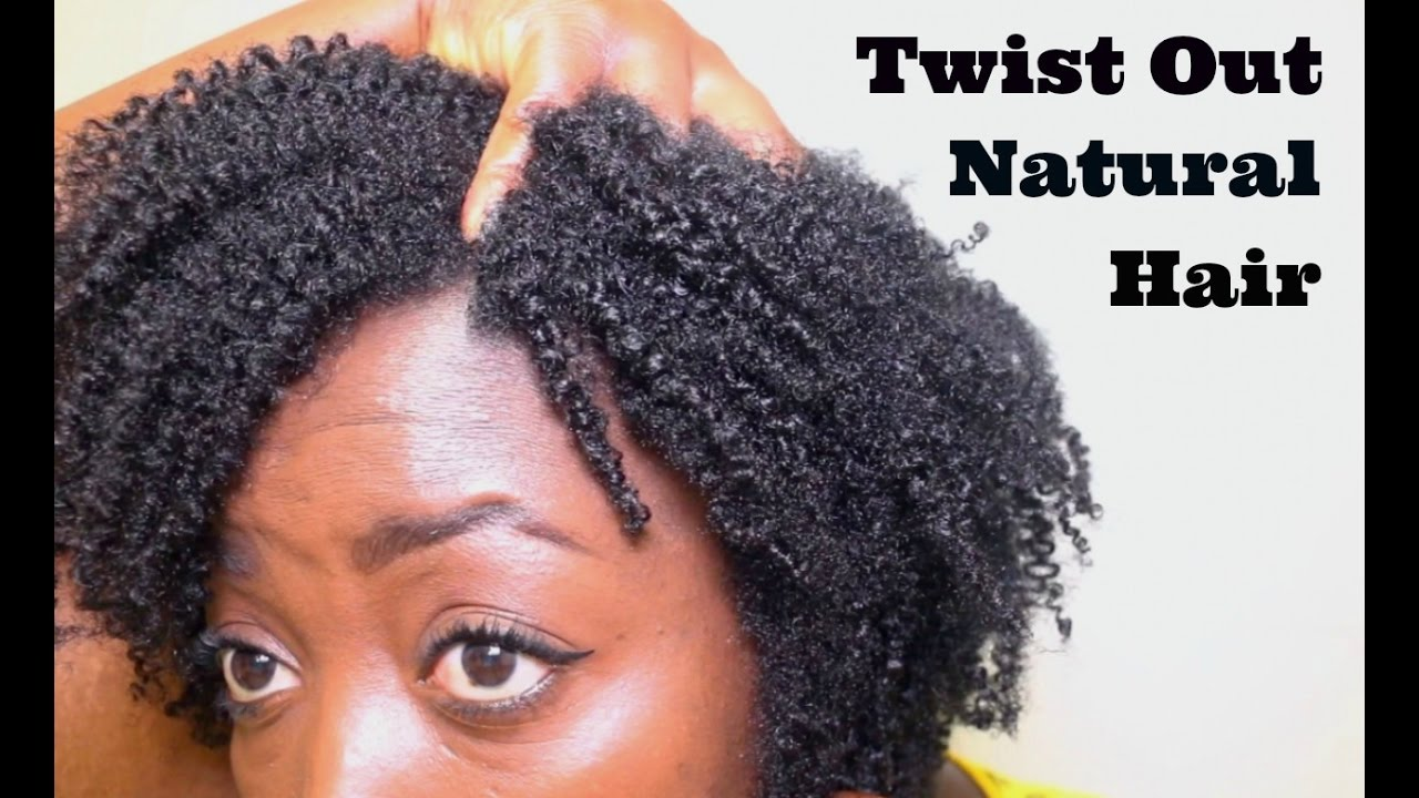 Twist Out Natural Hair Type 4c 4b 4a Kinky Curls Amp Coily