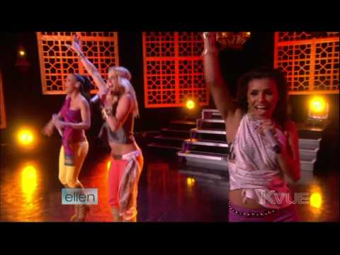 HDTV Pussycat Dolls  Jai Ho  on The Ellen DeGeneres Show  20th April 2009