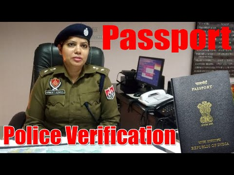Passport Police Verification Documents In India