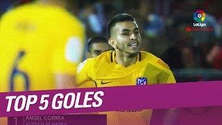 Top 5 goles jornada 1 laliga santander 2017/2018