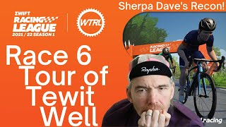 Zwift Racing League 2021 Rące 6 - Tour of Tewit Well