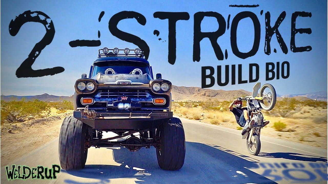 Download INSANE 2 Stroke MONSTER Truck Rat Rod Build | Custom Chevy Apache Build Bio and Drive