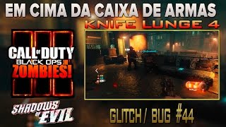 COD-Bo3-Zombies-Shadows of Evil #44 - Glitch/Bug - Knife lunge 4 - AFTER PATCH 2016