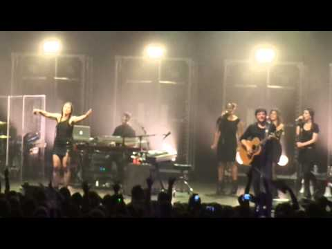 Elisa - Electricity / Rock your soul / I know / Gift / Redemption song @ Roma. 20/12/2014