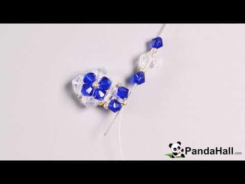 vid o 45 p comment faire une bague avec perles en verre youtube. Black Bedroom Furniture Sets. Home Design Ideas