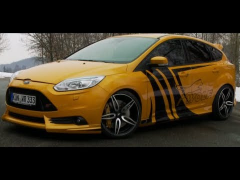 ford focus st von wolf racing test it youtube. Black Bedroom Furniture Sets. Home Design Ideas