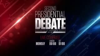 cnn international 2nd presidential debate 2016 promo