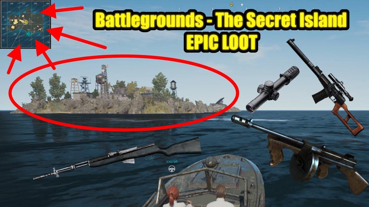 Gegner Schneller Erkennen Mit Reshade Pubg Tutorial: Battlegrounds - The Secret Island EPIC LOOT(PUBG)