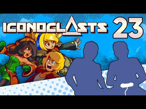 Iconoclasts - PART 23 - Shockwood WE'RE INSIDE YOU - Let's Game It Out |