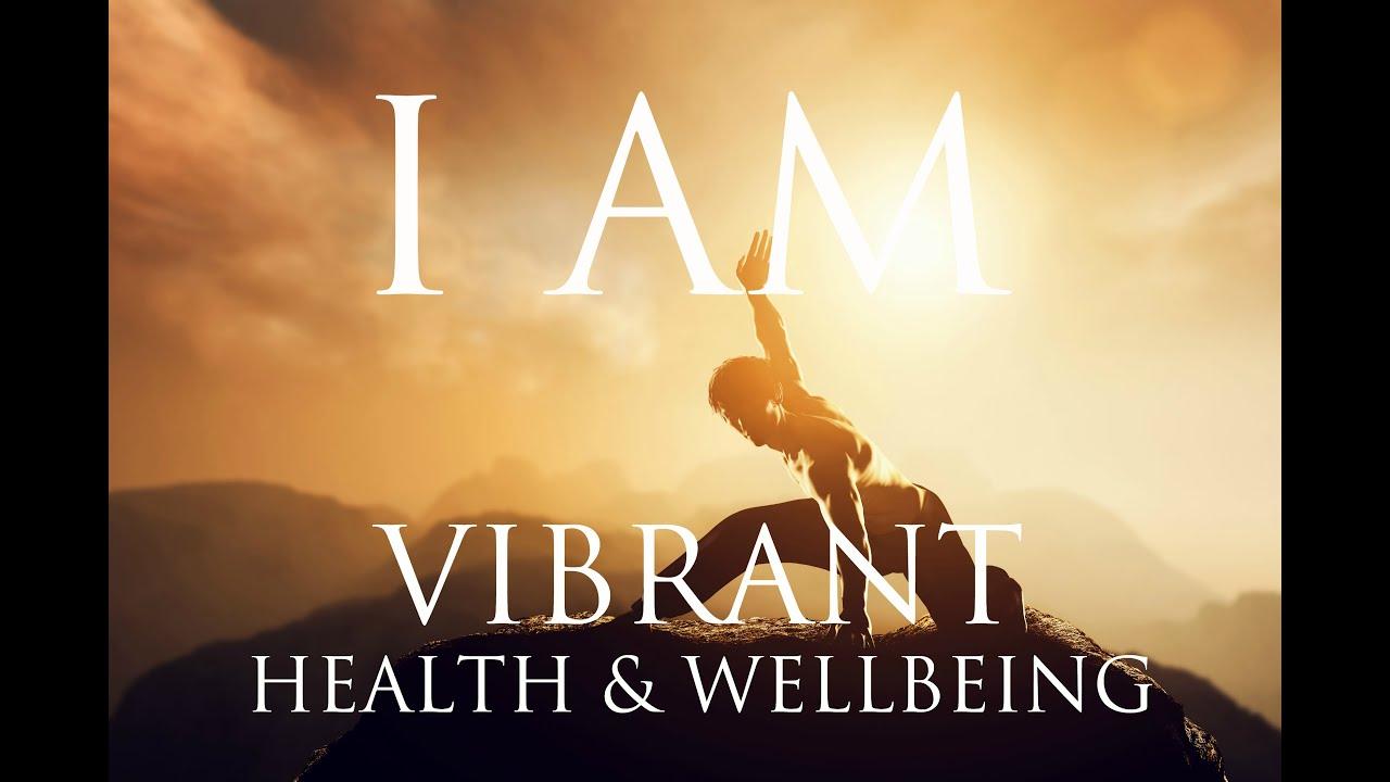 For health vibrancy