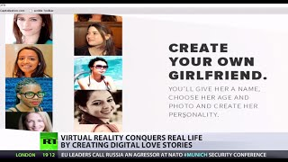 Virtual reality conquers life by creating digital love stories