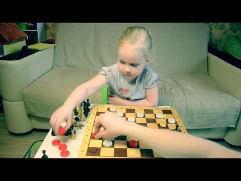 Учимся играть в шашки и шахматы. Стрелялки шашками.