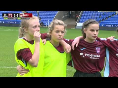 Highlights | PlayStation U14 Schools Cup for Girls | St Ivo School v Thomas Telford School