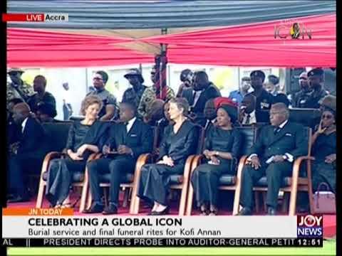 Kofi Annan Finally Laid To Rest - JoyNews (13-9-18)