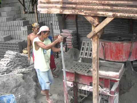 Hollow Block Maker Wmv Youtube