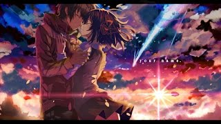 Nightcore - Kataware Doki - RADWIMPS [Kimi no Na Wa (Your Name) OST]