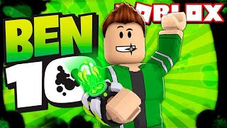 I TURNED BEN 10 FOR 1 DAY at ROBLOX