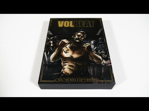 Volbeat - Seal The Deal & Lets Boogie Box Unboxing