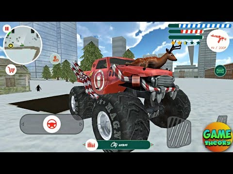Crime Santa Game Update By Naxeex New Monster Truck # Android GamePlay FHD