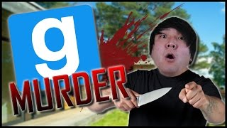 GMod Murder: STABBING IN THE HOUSE!!