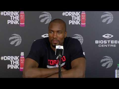 Raptors Practice: Serge Ibaka - April 17, 2017
