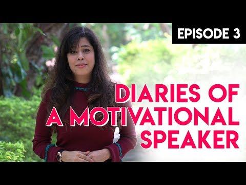 Priya Kumar - Motivational Speaker Diaries   Episode 3   Speechless on Stage