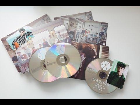 Unboxing EXO's Love Me Right Japanese Version Albums [Romantic Universe Version+Baekhyun Version]