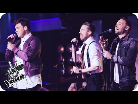 Team Ricky perform 'Power Of Love': The Live Semi-Final - The Voice UK 2016